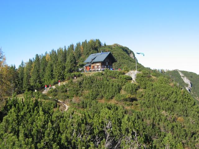 Foto: pepi4813 / Wander Tour / Über die Kalmberg Alm auf die Kalmberge / Goiserer Hütte / 18.07.2009 21:17:09
