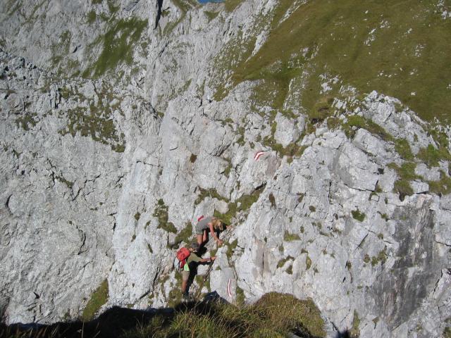 Foto: pepi4813 / Wander Tour / Tagweide – Hochkarfelderkopf Überschreitung / Scharte unterhalb Hochkarfelder Kopf / 19.07.2009 10:17:14