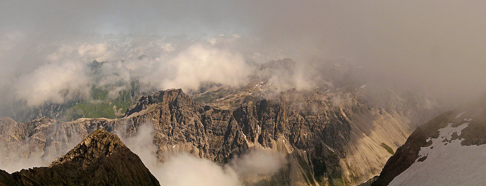 Foto: vince 51 / Wander Tour / von der Formarinalpe auf die Rote Wand / 18.07.2009 23:26:27