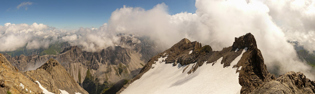 Foto: vince 51 / Wander Tour / von der Formarinalpe auf die Rote Wand / 18.07.2009 23:26:36