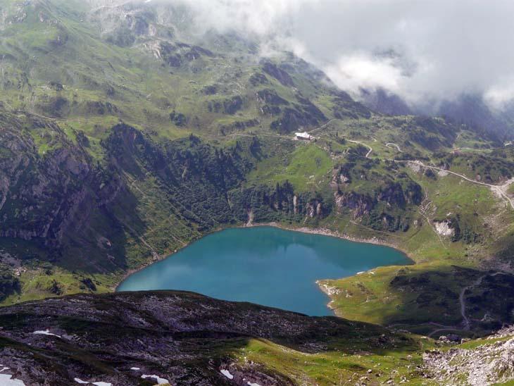 Foto: vince 51 / Wander Tour / von der Formarinalpe auf die Rote Wand / Formarinsee und Freiburger Hütte / 18.07.2009 23:27:30