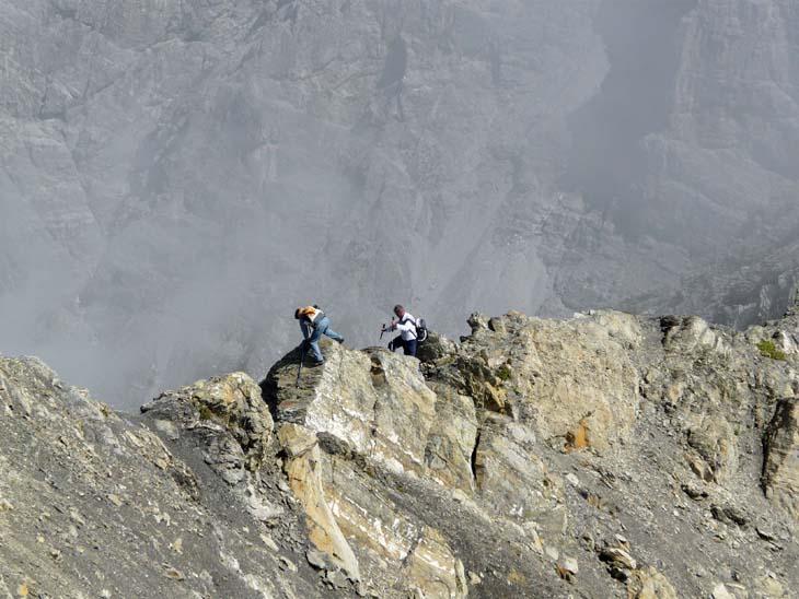 Foto: vince 51 / Wander Tour / von der Formarinalpe auf die Rote Wand / auf dem Nordgrat / 18.07.2009 23:29:00