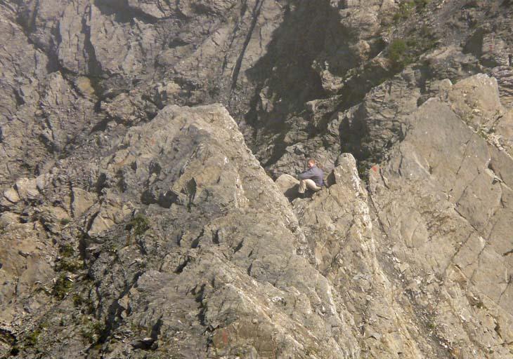 Foto: vince 51 / Wander Tour / von der Formarinalpe auf die Rote Wand / auf dem Nordgrat / 18.07.2009 23:29:53