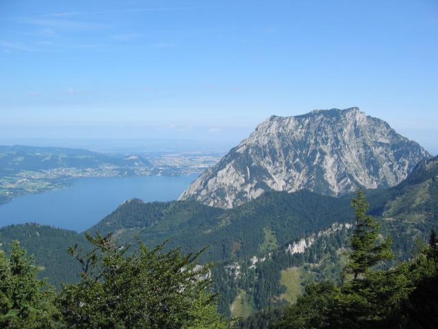 Foto: pepi4813 / Wander Tour / Von der Gasslhöhle zum Gasslkogel / Blick zum Traunstein / 19.07.2009 11:17:00