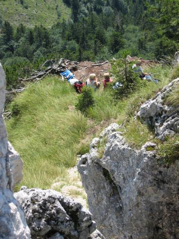 Foto: pepi4813 / Wander Tour / Von der Gasslhöhle zum Gasslkogel / Gipfelwiese / 19.07.2009 11:16:22