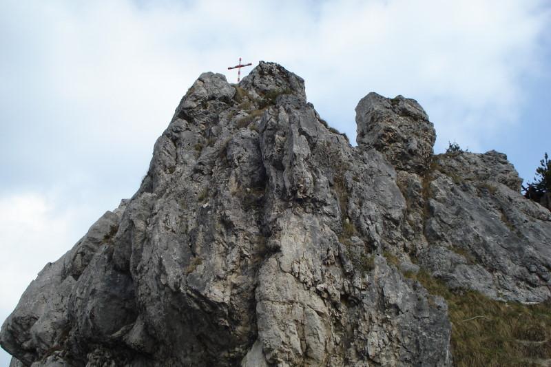 Foto: Günter Siegl / Wander Tour / Von der Gasslhöhle zum Gasslkogel / Gipfelaufbau / 24.04.2011 18:07:25