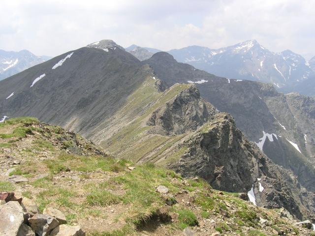 Foto: pepi4813 / Wander Tour / Von Spiluck auf die Karspitze / Blick von der Karspitze nach Westen / 19.07.2009 20:25:09