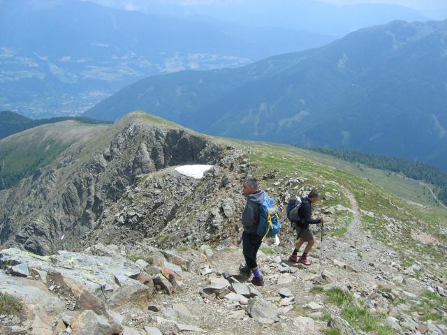 Foto: pepi4813 / Wander Tour / Von Spiluck auf die Karspitze / Abstiegsweg / 19.07.2009 20:24:45