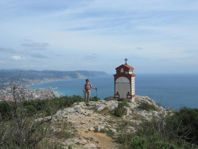 Foto: pepi4813 / Wander Tour / Von Borghetto Santo Spirito auf den Monte Croce / Kapelle am Monte Piccardo / 19.07.2009 21:16:08