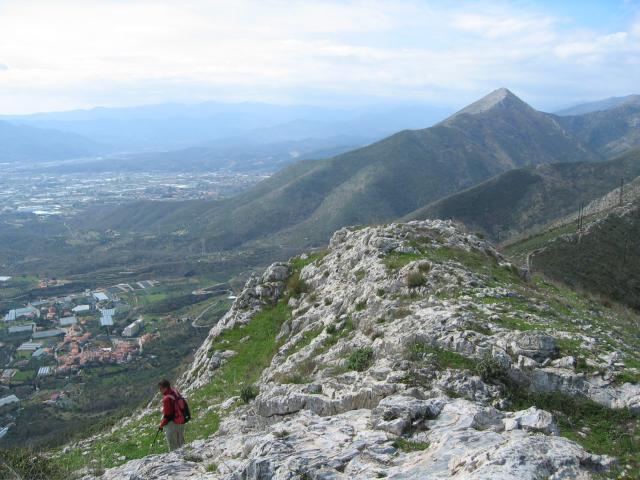 Foto: pepi4813 / Wander Tour / Von Borghetto Santo Spirito auf den Monte Croce / Am Monte Croce / 19.07.2009 21:14:40