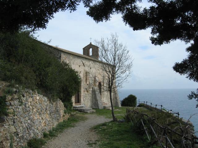 Foto: pepi4813 / Wander Tour / Küstenwanderung von Varigotti nach Noli / Kirche San Lorenzo / 19.07.2009 22:05:53