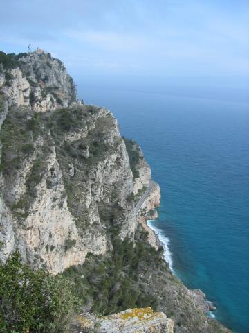 Foto: pepi4813 / Wander Tour / Küstenwanderung von Varigotti nach Noli / Blick zum Capo Noli / 19.07.2009 22:06:50