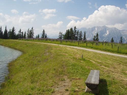Foto: hofchri / Mountainbike Tour / Planai (1906 m) von Schladming mit Downhillstrecke / 11.08.2009 20:32:07