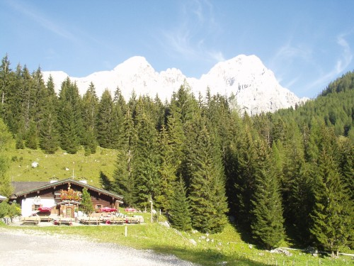 Foto: hofsab / Mountainbike Tour / Filmooser Almentour über Hofalmen und Sulzenalm (1612 m) / bei den Hofalmen / 26.08.2009 12:42:55