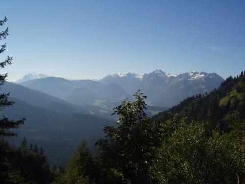 Foto: hofsab / Mountainbike Tour / Filmooser Almentour über Hofalmen und Sulzenalm (1612 m) / Aussicht von der Sulzkaralm / 26.08.2009 12:41:03