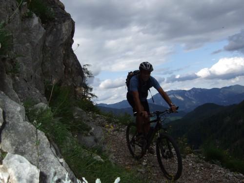 Foto: hofsab / Mountainbike Tour / Huttererböden (1404 m) von Hinterstoder über Steyerbergerreith / 25.08.2009 13:10:32