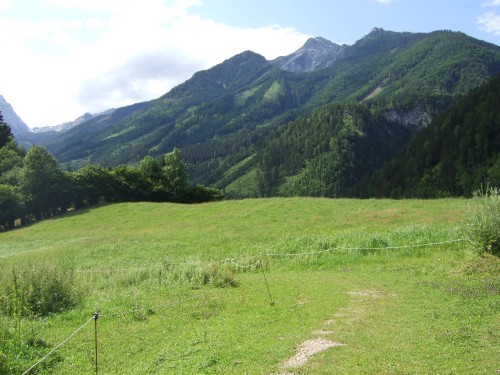 Foto: hofsab / Mountainbike Tour / Huttererböden (1404 m) von Hinterstoder über Steyerbergerreith / im Loigistal / 25.08.2009 13:03:39