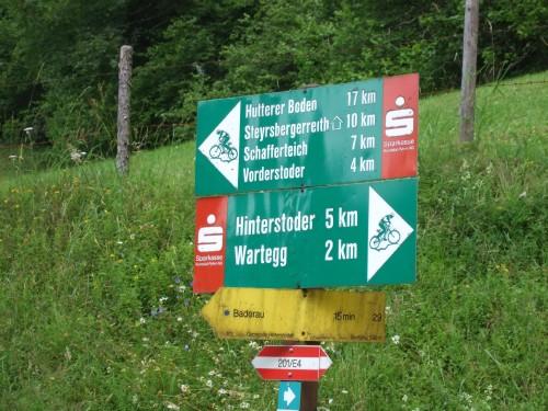 Foto: hofsab / Mountainbike Tour / Huttererböden (1404 m) von Hinterstoder über Steyerbergerreith / Strecke ist beschildert / 25.08.2009 13:05:02