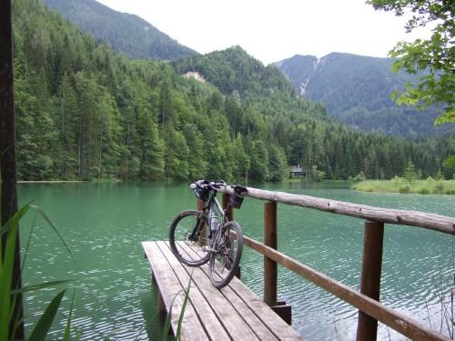 Foto: hofsab / Mountainbike Tour / Huttererböden (1404 m) von Hinterstoder über Steyerbergerreith / der Schafferteich / 25.08.2009 13:05:51