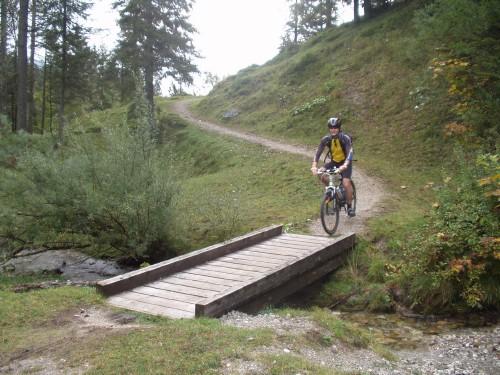 Foto: hofsab / Mountainbike Tour / Rund um und auf den Rauschberg (1645 m) / nach der Kaitelalm / 26.08.2009 12:47:37