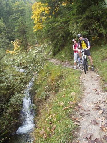Foto: hofsab / Mountainbike Tour / Rund um und auf den Rauschberg (1645 m) / 26.08.2009 12:47:47