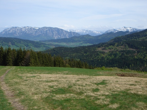 Foto: hanna84 / Wander Tour / Von Oberwang auf die Kulmspitze / Ausblick von der Hochalm / 24.07.2009 20:23:52
