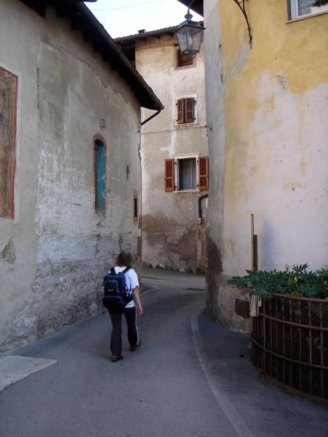 Foto: Manfred Karl / Kletter Tour / Familienklettern am Monte Baone / Dorfspaziergang als Zustieg / 24.07.2009 23:44:50