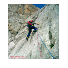 Foto: Kurt Schall / Kletter Tour / Rillenplatte / 28.07.2009 09:01:54