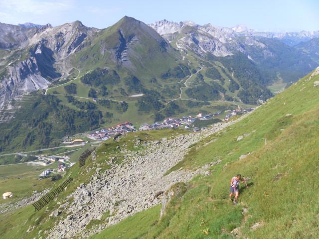 Foto: Wolfgang Lauschensky / Wander Tour / Gamskarlspitze (2411m) / Anstieg über den Pisten von Obertauern / 24.08.2012 19:18:31