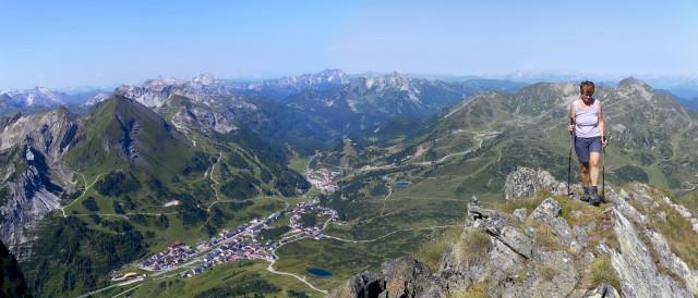 Foto: Wolfgang Lauschensky / Wander Tour / Gamskarlspitze (2411m) / Gipfelgrat über Obertauern / 24.08.2012 19:17:23