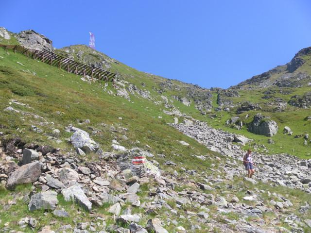 Foto: Wolfgang Lauschensky / Wander Tour / Gamskarlspitze (2411m) / Abstiegsrinne  / 24.08.2012 19:17:12