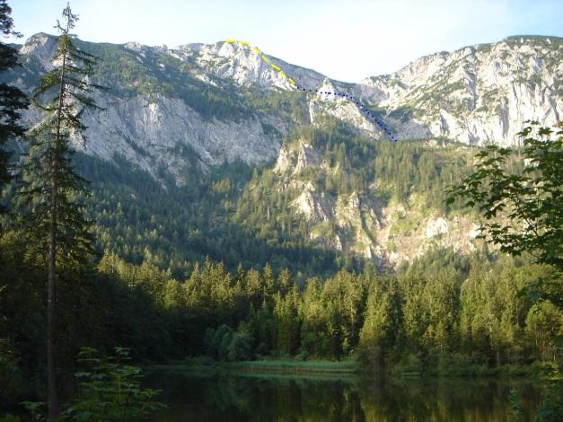 Foto: Manfred Karl / Kletter Tour / Brunnkogel Nordwestgrat / Brunnkogel Nordwestgrat von der Taferlklause / 31.07.2009 20:18:45
