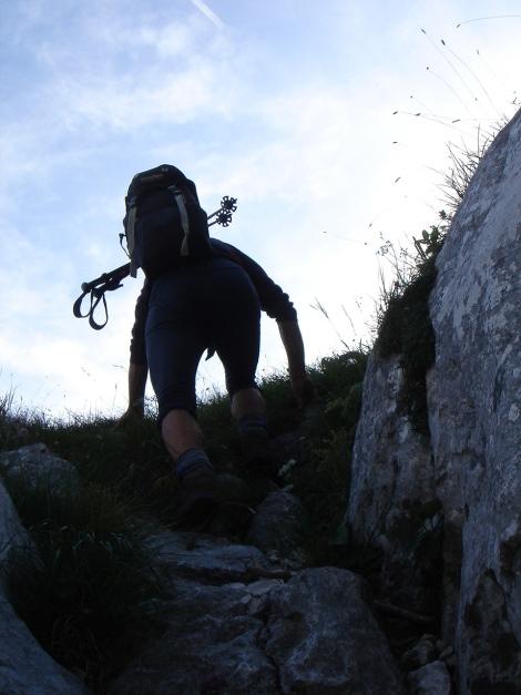Foto: Manfred Karl / Kletter Tour / Brunnkogel Nordwestgrat / 31.07.2009 20:17:30