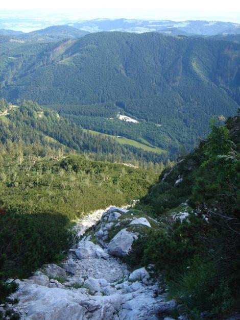 Foto: Manfred Karl / Kletter Tour / Brunnkogel Nordwestgrat / Schrofiger Zustieg / 31.07.2009 20:17:07