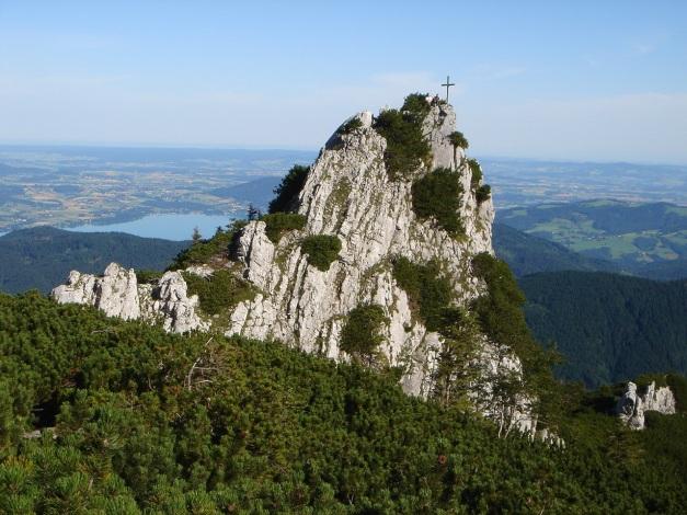 Foto: Manfred Karl / Kletter Tour / Brunnkogel Nordwestgrat / Bischofsmütze / 31.07.2009 20:16:40