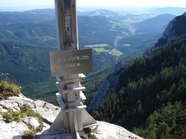 Foto: Manfred Karl / Kletter Tour / Brunnkogel Nordwestgrat / 31.07.2009 20:16:23