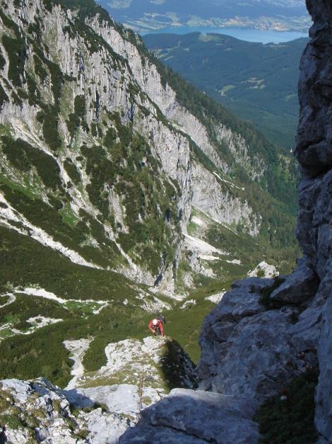 Foto: Manfred Karl / Kletter Tour / Brunnkogel Nordwestgrat / 5. SL / 31.07.2009 20:12:36