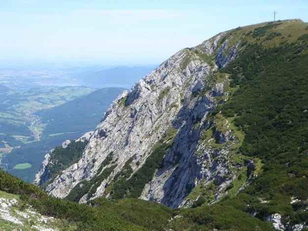 Foto: Manfred Karl / Kletter Tour / Brunnkogel Nordwestgrat / Nordwestgrat im Profil / 31.07.2009 20:08:59