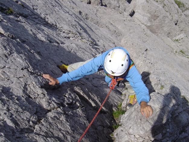 Foto: Manfred Karl / Kletter Tour / Kleine Gamswiesenspitze Nordostkante / 31.07.2009 20:37:59