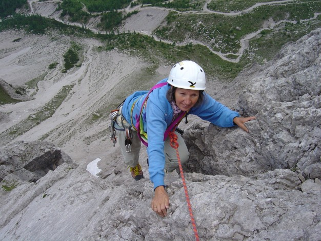 Foto: Manfred Karl / Kletter Tour / Kleine Gamswiesenspitze Nordostkante / 31.07.2009 20:37:18