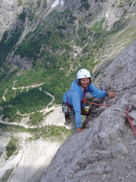 Foto: Manfred Karl / Kletter Tour / Kleine Gamswiesenspitze Nordostkante / Ausstieg aus der Kante / 31.07.2009 20:36:51