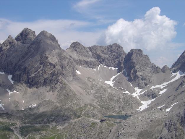 Foto: Manfred Karl / Kletter Tour / Kleine Gamswiesenspitze Nordostkante / Laserzkessel / 31.07.2009 20:36:27
