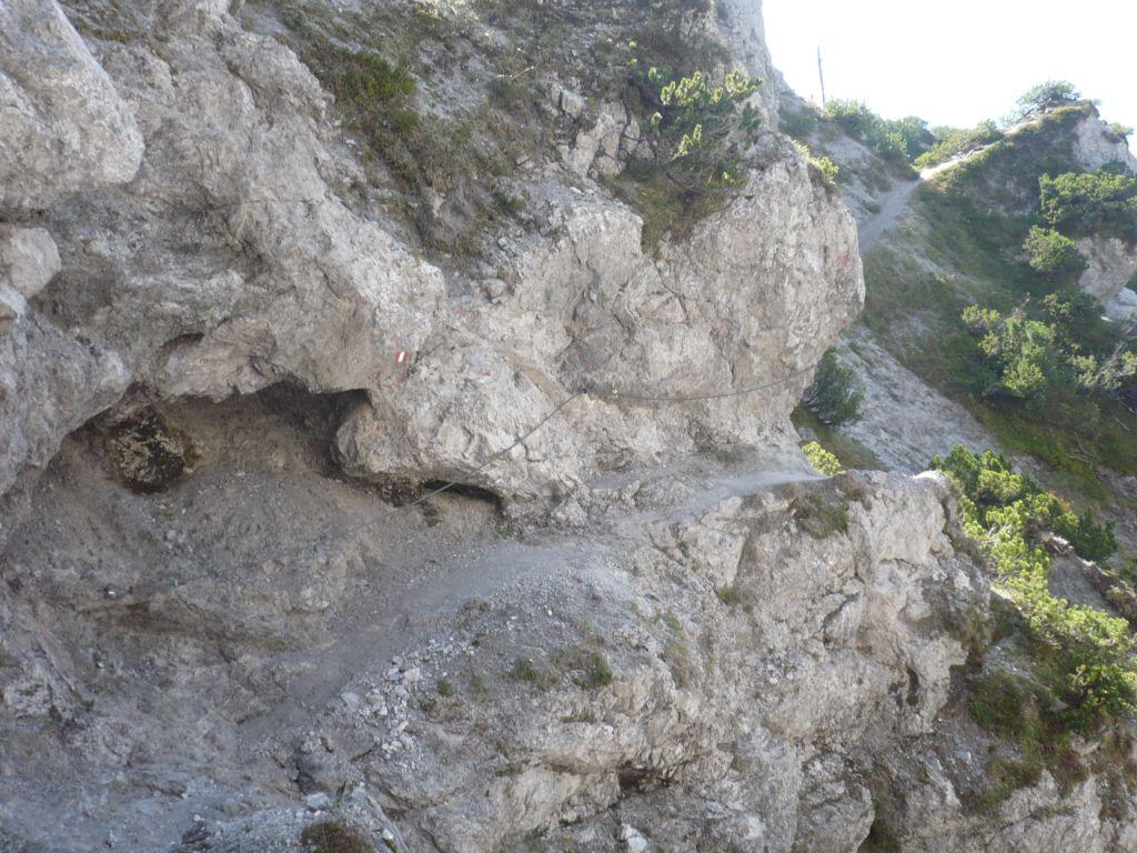 Foto: hwo1607 / Wander Tour / Persaifoissel, von Steinalm zur Peter Wiechenthaler Hütte / 03.10.2011 08:25:34