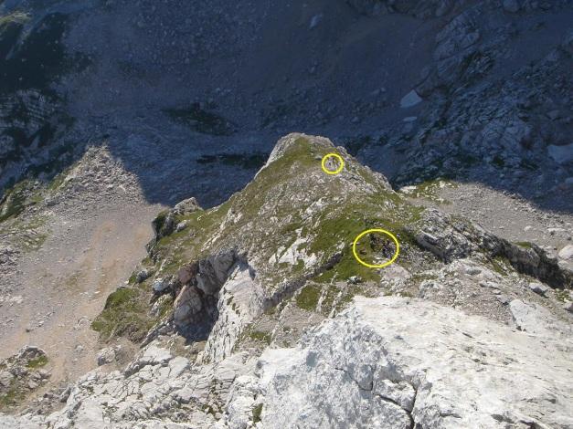 Foto: Manfred Karl / Klettersteig Tour / Schermberg, Tassilo Klettersteig / Der grasige Rücken / 02.08.2009 21:00:25