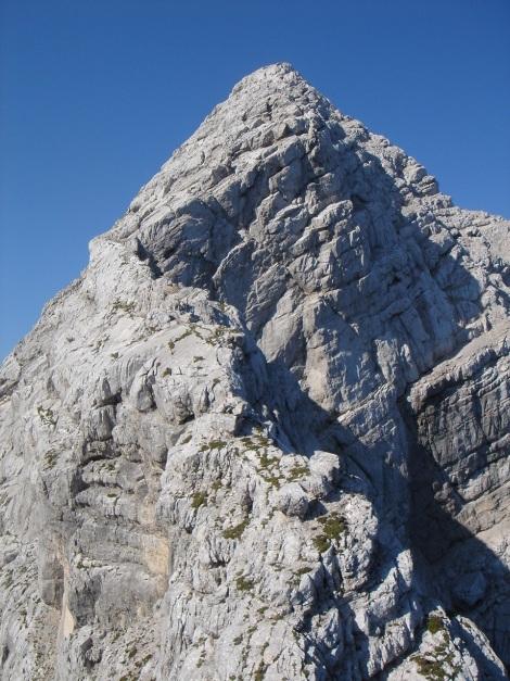 Foto: Manfred Karl / Klettersteig Tour / Schermberg, Tassilo Klettersteig / Schermberg Gipfelaufbau / 02.08.2009 20:57:43