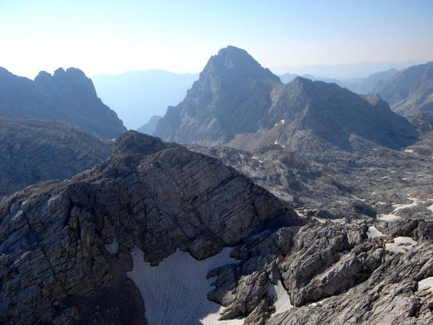 Foto: Manfred Karl / Klettersteig Tour / Schermberg, Tassilo Klettersteig / Brotfall - Sauzahn - Spitzmauer / 02.08.2009 20:56:31