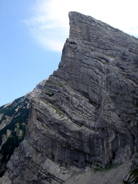 Foto: Manfred Karl / Klettersteig Tour / Schermberg, Tassilo Klettersteig / Markant: Das Kreuz / 02.08.2009 20:51:42