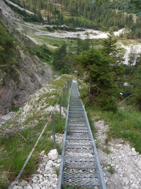 Foto: Manfred Karl / Klettersteig Tour / Schermberg, Tassilo Klettersteig / 02.08.2009 20:50:33