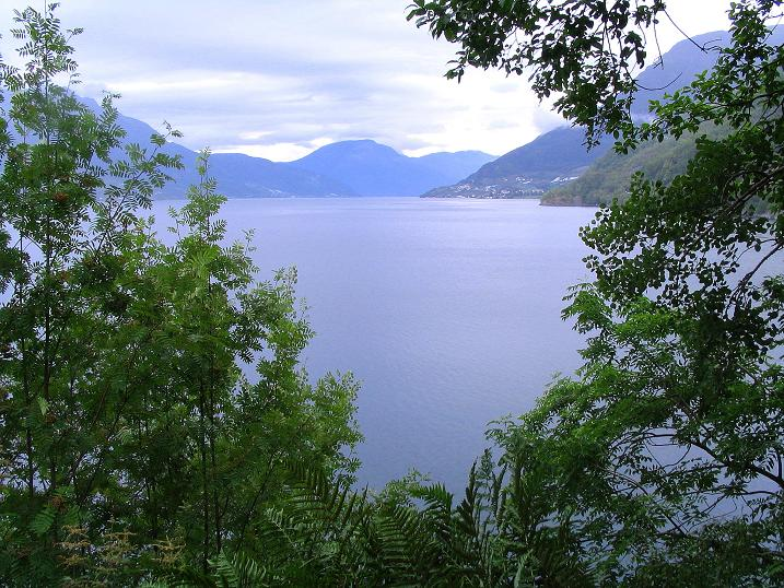 Foto: Andreas Koller / Wander Tour / Familienwanderung zum Voringfossen (ca. 300m) / Der Eidfjord / 05.08.2009 13:48:31