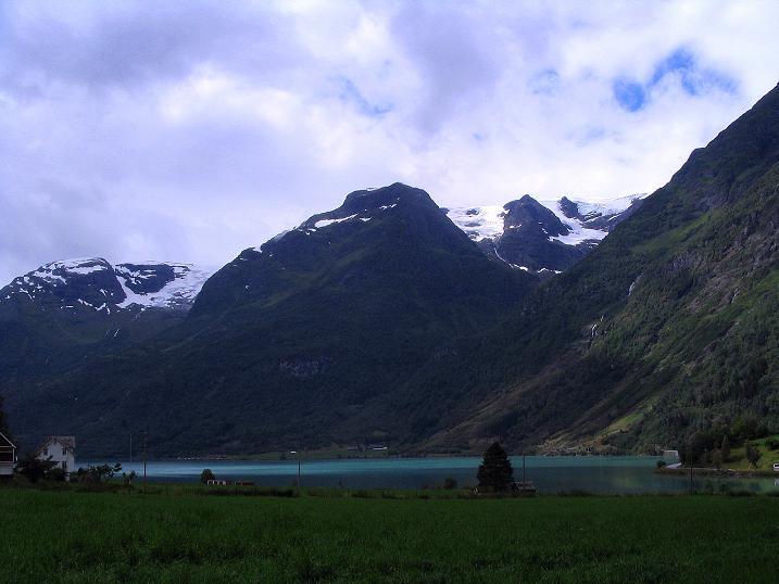Foto: Andreas Koller / Wander Tour / Gletschererlebnis Briksdalsbreen (150 m) / 04.08.2009 19:19:45